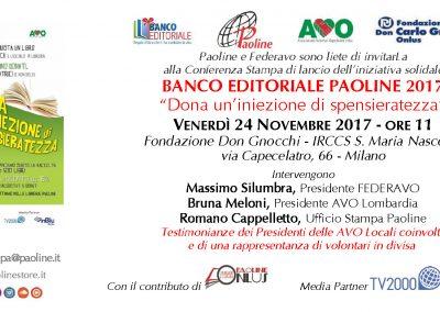 Conferenza Stampa - Milano, 24/11/2017