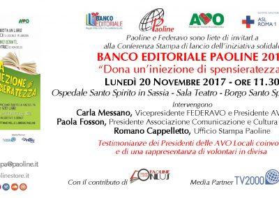Conferenza Stampa - Roma, 20/11/2017