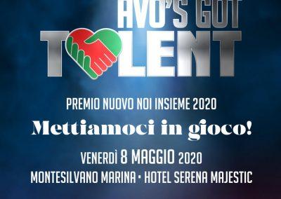 "Premio Noi Insieme 2020: Regolamento Concorso ""AVO'S GOT TALENT"""