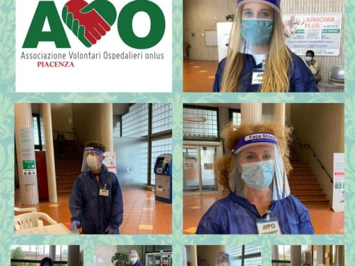 """Il """"camice"""" in TNT per un nuovo servizio alternativo di AVO Piacenza"""