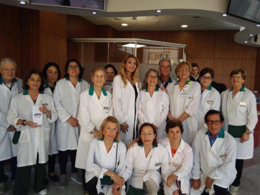 Il ritorno in Ospedale di AVO Caserta
