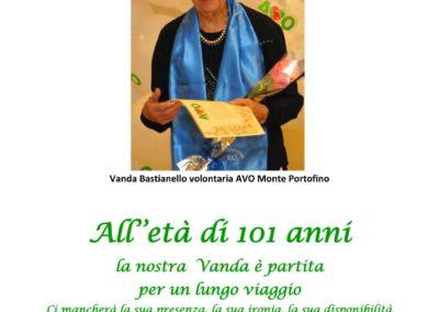 I volontari di Monte Portofino ricordano la loro cara volontaria