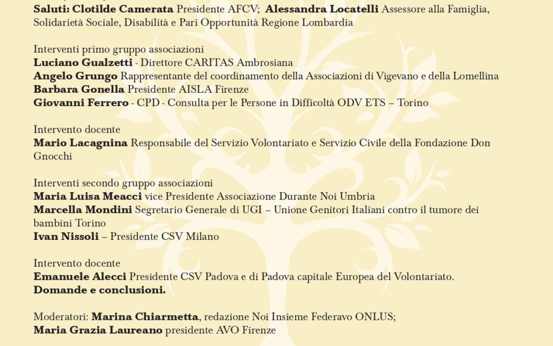 Futuro dell'Associazionismo Sociosanitario in Italia (M. Chiarmetta)