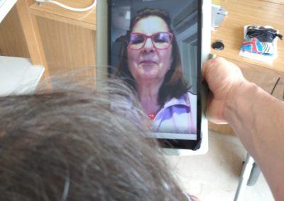 Amici di video chiamata, un progetto pluriregionale per la  RSA Villa Salus di Rimini