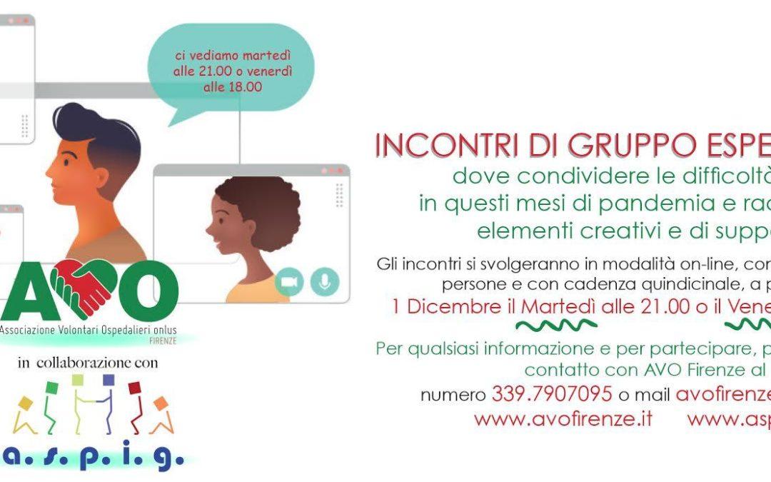 """""""Ritrovarsi per migliorare"""": l'esperienza dei gruppi di Auto-Aiuto di AVO Firenze"""